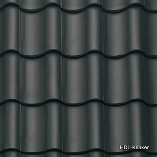 Dachziegel schwarz  Dachziegel - www.hdl-klinker.de